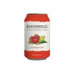 Rekordelig Cider Strawberry-Lime 4,5%